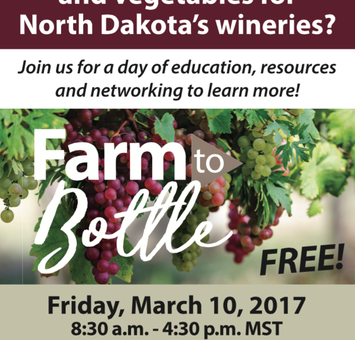 Farm to Bottle Event